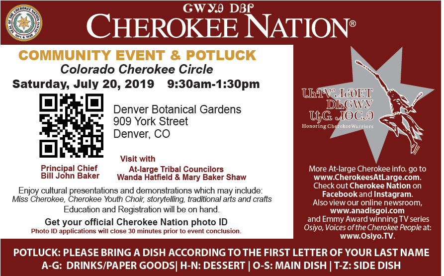 Hunting & Fishing (OK) – Cherokee Nation Citizens At-Large